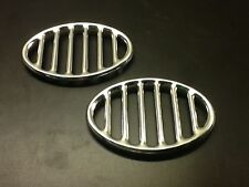 Air Cooled VW Beetle Horn Grill Pair 52-67. Prt# 113853641A
