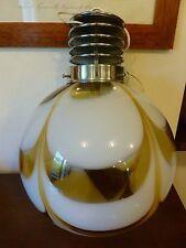 Lampadario luce a soffitto in vetro di Murano vintage anni 70 sfera chandelier
