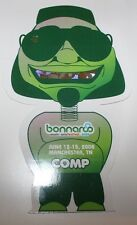 BONNAROO MUSIC & ARTS FESTIVAL 2008 DIE CUT TICKET STUB GENERAL ADMISSION