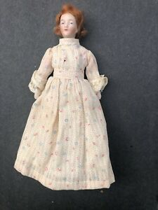 ANTIQUE GERMAN BISQUE DOLLHOUSE DOLL