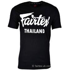 Fairtex Thailand T-Shirt Black TST56 Casual Muay Thai Kickboxing MMA Training