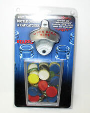 VIsit our store to see our custom openers! BASIC BOTTLE OPENER CAP CATCHER