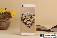 2019 ★ Coque Case HOUSSE silicone soft Iphone 4 4S 5c 5s 6 6+ Minions Moi Moche★