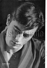 1962, Alain Delon  Japan Vintage Clippings 4et11
