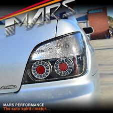 JDM Black LED Tail Lights for SUBARU Impreza Sedan 01-03 WRX STi RX RS S GX RV