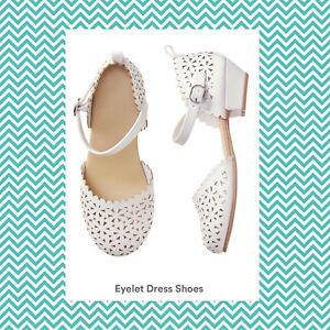 NWT- Gymboree Eyelet Dress Shoes Sz.10
