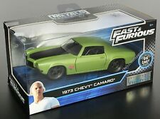 JADA Fast And Furious Dom's 1973 Chevy Camaro F-Bomb 1:32 Diecast Car