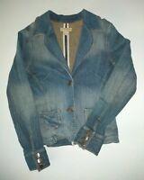 Stetson western Denim jean Jacket blazer Women's size Medium