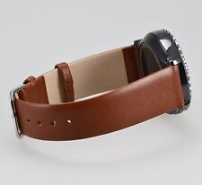 Official Samsung Gear S2 Strap Classic Smartwatch Band Leather ET-SLR73 Brown