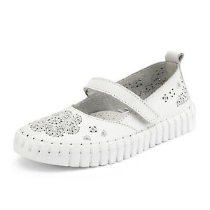 Kids Girls Flat Shoes Dress Shoes Slip On Ballerina Loafers Shoes Size US