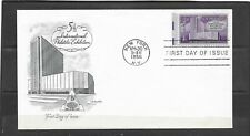 1956 US Artmaster Cachet FDC Scott #1076 5th Philatelic Exhibition Unaddressed
