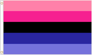 Omnisexual Omni Pride 5'x3' Polyester Flag