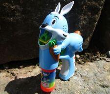 Seifenblasenpistole Hase in Blau mit Licht  20x15x6,7cm Blister 123B