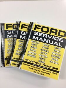 Ford 532 535 540 540A 540B 545 545A Industrial Tractor Service Manual Repair