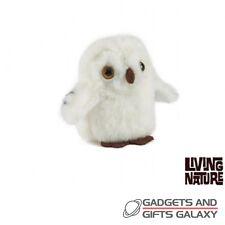 SNOWY OWL MINI BUDDIES PLUSH x 1 9cm TALL & FACTS ass designs toy teddy childs
