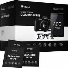 Lens Wipes - 400 Eye Glasses Cleaning Wipe, Our Eyeglass Cleaner, Screen Wipes