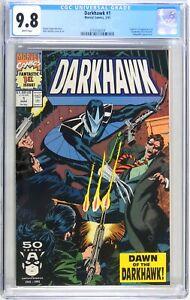 D186. Darkhawk #1 Marvel CGC 9.8 NM/MT (1991) Origin & 1st App Darkhawk
