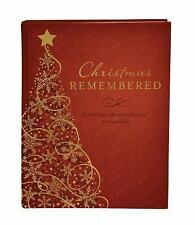 Christmas Remembered : A Holiday Memory Journal for Families by JoAnne...