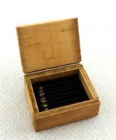 Puppen Haus Schachtel mit Zigarren Miniatur 1:12 Maßstab Kneipe bar Bau Studien