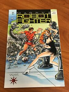 Magnus Robot Fighter #1 Valiant Comics VF- coupon cut out