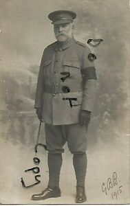 WW1 George Bethel Bayley City of London Volunteers VTC 1915
