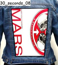 30 SECONDS TO MARS   Back Patch Backpatch ekran new