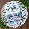 "DecoWords Fridge Magnet 2""x3"" Quilt Quilter QUILTING QUEEN Group Gift Quote USA"