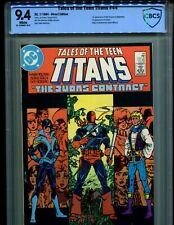 New listing  Teen Titans 44 Cbcs 9.4 V.1! 1St Nightwing, Jericho! Origin Deathstrok! Like Cgc