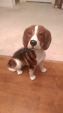 Large Vintage Beswick English Ceramic Beagle Dog Figurine #2300 Fireside Model