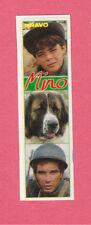 MINO 1980s Pierre Cosso Guido Cella Mario Adorf TV Mini Sticker from Germany
