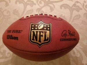 NFL Duke Wilson Authentic Football Signed Marshawn Lynch Seahawks Raiders Auto