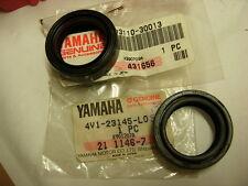 YAMAHA RD 125 RS 100 YZ 80 gabelsimmeringe Original 2x Oil Seal, front fork