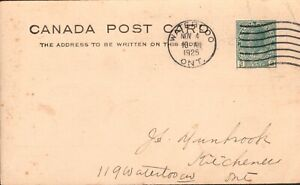 Canada Postal Stationary Cover  Waterloo Ontario Postmark-Farmers Mutual Ins.