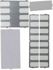 Nortel Norstar Phone Desi Plastic Overlay Plates Pack T7316 T7316E Charcoal NEW