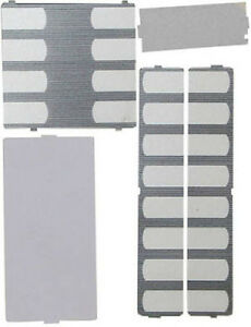 Qty. 10 Nortel Norstar Phone Desi Plastic Button Overlay Plates T7316 T7316E NEW