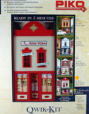 PIKO  BOOK WORM  BOOK SHOP  STORE G Scale Building Qwik Kit # 62724  New in box