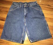 VINTAGE 90's Nautica Marine Denim Shorts Mens Size 32