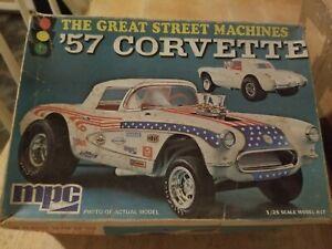 MPC The Great Street Machines '57 Corvette Model Car Kit