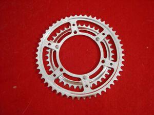 Nervar Cottered Gear / Chain Ring Set Road 52 / 40 Chrome Steel Used