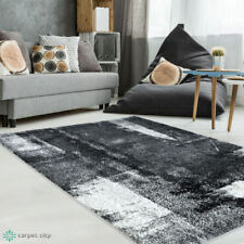 Tapis gris rectangulaire pour la maison, 160 cm x 230 cm