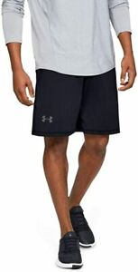 """New With Tags Mens Under Armour Gym UA Muscle Athletic Logo 10"""" Shorts"""