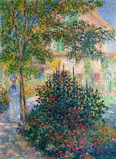 Monet 1876, Camille Monet, Canvas Print, Fade Resistant HD Print or Canvas