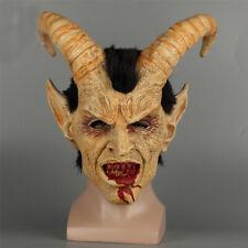 Fiesta de Halloween De Utilería Headgear horror humano Pieza Facial película Cuerno del Diablo Lucifer