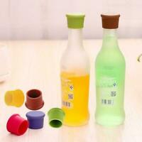 Silicone Wine Beer Cover Bottle Cap Stopper Kitchen Bar Gadget New Tool J2V3