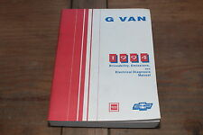 G Van Full Size 1994 Chevy GMC Shop Manual Driveability Emissions Electrical