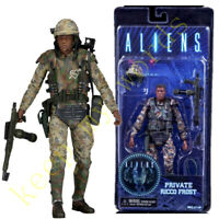 NECA  Aliens  PVC Action Figure Ricco Frost Private soldier New Model Play Toy