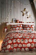 Fusion Dotty Sheep Christmas Easy Care Reversible Duvet Sets
