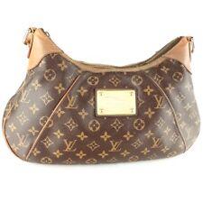 Auth LOUIS VUITTON THAMES GM Shoulder Bag Purse Monogram M56383 Brown