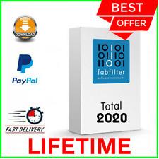 FabFilter Total Bundle VST 2020 [+270 Sold]?FULL VERSION?LIFETIME LICENSE KEY