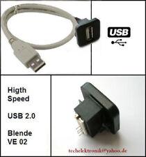 USB Einbaubuchse Einbausteckdose 150cm passend für Ford Mondeo Focus VW Golf T5